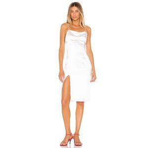 Superdown Daisie Midi Dress White Small Revolve